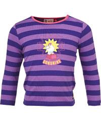 LEGO wear Dívčí pruhované tričko Tina 605 - fialové