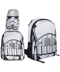 Disney Brand Chlapecký batoh s maskou Star Wars - bílý