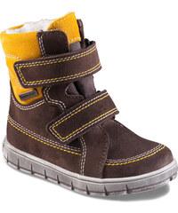 Richter Chlapecké zimní boty - žluto-hnědé