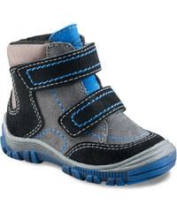 Richter Chlapecké zimní kotníkové boty - šedo-černé