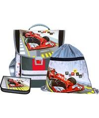 Emipo Chlapecký školní set aktovkový 3-dílný Formule racing