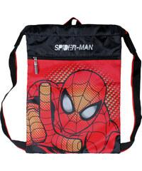 Disney Brand Chlapecký sáček - batůžek Spiderman - červeno-tmavě modrý