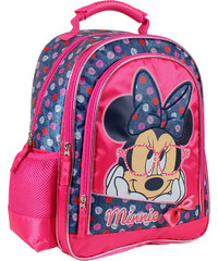 Disney Brand Dívčí batůžek Minnie - modro-růžový