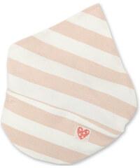 Pinokio Dívčí pruhovaný šátek - béžovo-bílý