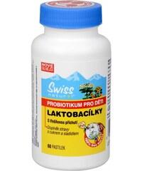 Swiss Natural Sources Laktobacílky dětské 60 cucavých pastilek