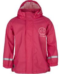 LOAP Dívčí nepromokavá bunda Silvester - růžová