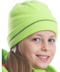 ALPINE PRO Dětská zimní čepice Sparandio - zelená