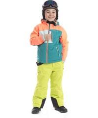 ALPINE PRO Chlapecká zimní bunda Clearco - barevná