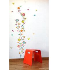 Série-Golo Samolepicí dekorace - Květinový tanec