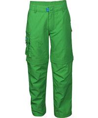 Trollkids Dětské zelené rychleschnoucí kalhoty/kraťasy