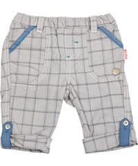 Tup-Tup Chlapecké kostkované kalhoty - světle šedé