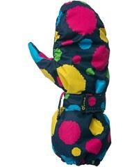 O'Style Dětské zateplené rukavice pompon