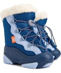 Demar Dětské sněhule Snow Mar C - modré