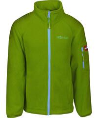 Trollkids Dětská zelená fleecová bunda