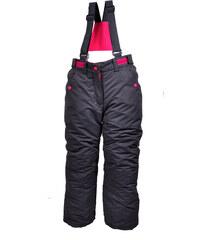 Bugga Dívčí lyžařské kalhoty - tmavě šedé