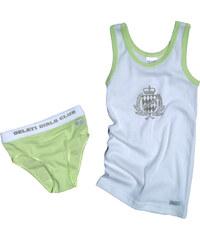 Gelati Dívčí spodní prádlo - set - zelený, bílý