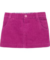 JoJo Maman Bébé Dívčí manšestrová mini sukně - růžová