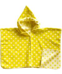 David Fussenegger JUWEL Cape poncho 2-4 roky žluté