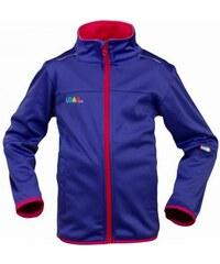 G-mini Dívčí fialová softshellová bunda Maxo
