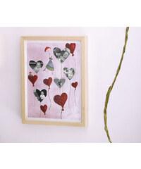 Lilipinso Papírový fotorámeček - japonský strom, 30x40 cm