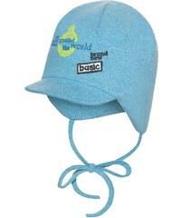 Broel Chlapecká čepice s kšiltem - světle modrá