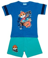 Pettino Chlapecké pyžamo s tygrem - modré