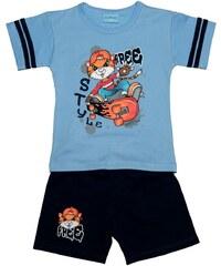 Pettino Chlapecké pyžamo s tygrem - světle modré