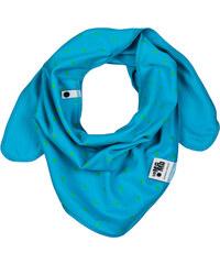 Lamama Chlapecký oboustranný šátek - tyrkysový