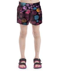 ALPINE PRO Dívčí šortky s potiskem Amilcare - barevné