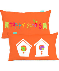 Little W Povlak na polštář Happy spring, 50x30 cm