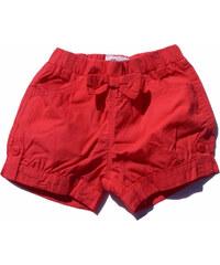 Gelati Dívčí šortky s mašlí - červené