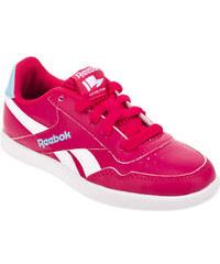 Reebok Dívčí botasky Royal Effect růžovo - bílé