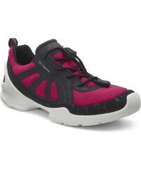 Ecco Dívčí tenisky - růžovo-černé