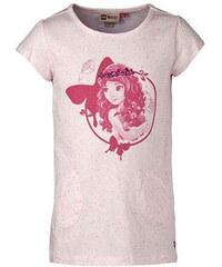 LEGO wear Dívčí tričko s vílou - světle růžové