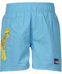 LEGO wear Chlapecké plavecké šortky se žirafou - modré
