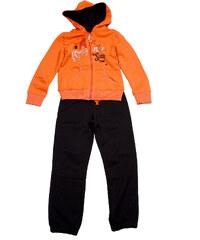 Wendee Menší dívčí tepláková souprava - oranžová