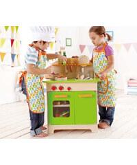 Hape Toys Kuchyňka se zelenými dvířky