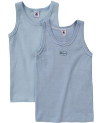 Petit Bateau - Jungen-Unterhemden 2er Pack für Jungen