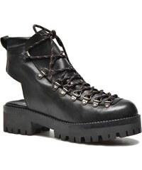 SALE - 50% - Intentionally blank - Tharp - Stiefeletten & Boots für Damen / schwarz