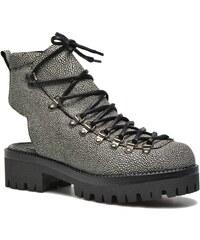 SALE - 30% - Intentionally blank - Tharp - Stiefeletten & Boots für Damen / grau
