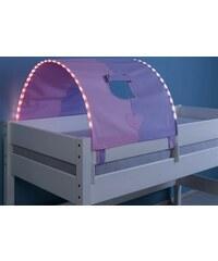 Kinder LED-Tunnel RELITA purple/rosa, Herz