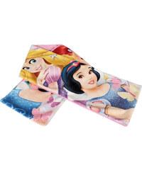 Disney Dívčí fleecová šála (17,5x100cm) - Princezny