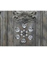 Chic Antique Dekorativní hvězda Crystal 13cm