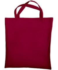 Nákupní bavlněná taška - Vínově červená univerzal