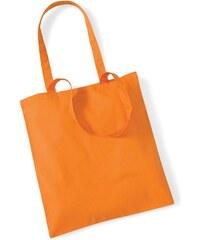 Plátěná taška - Oranžová univerzal