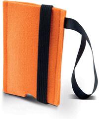 Filcový obal na iPhone - Oranžová univerzal