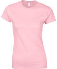 Přiléhavé tričko - Světle růžová S
