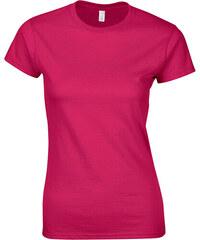 Přiléhavé tričko - Sytě růžová S