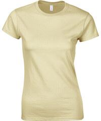 Přiléhavé tričko - Béžová S