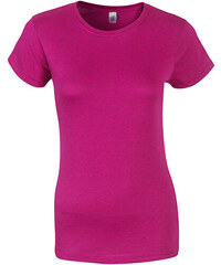 Přiléhavé tričko - Růžovofialová S